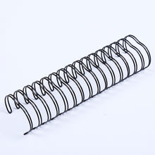 Double Loop Spiral Binding Wire Twin Ring Wire-O For Notebook Binding