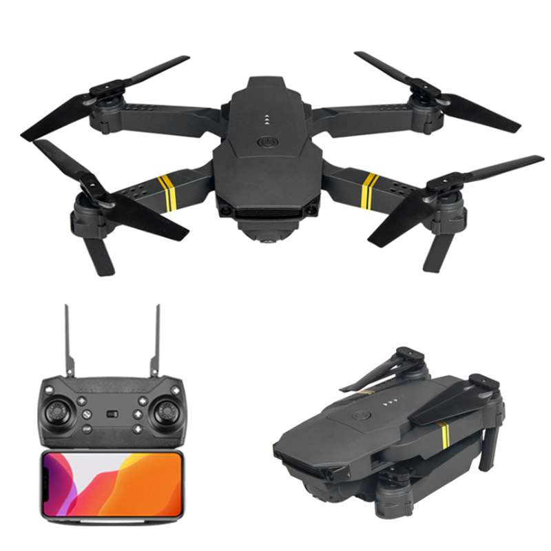 Foldable Altitude Hold Quadcopter Drone with HD Camera drone e58