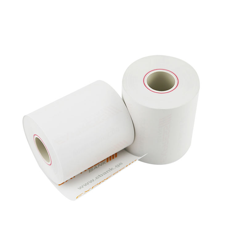 paper Carbon thermal paper roll with cheapest price from China white wood office supply