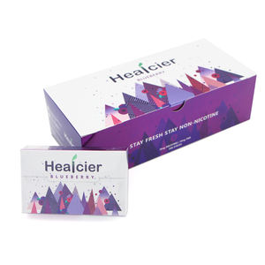 Healcier brand no burn Botanical Extracts Healcier tea leaf refill stick for heating device menthol flavor available