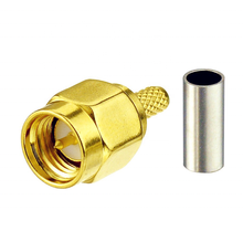 High quality cheap price SMA antenna connector for RG316 RG174 LMR100 LMR195 coaxial cable