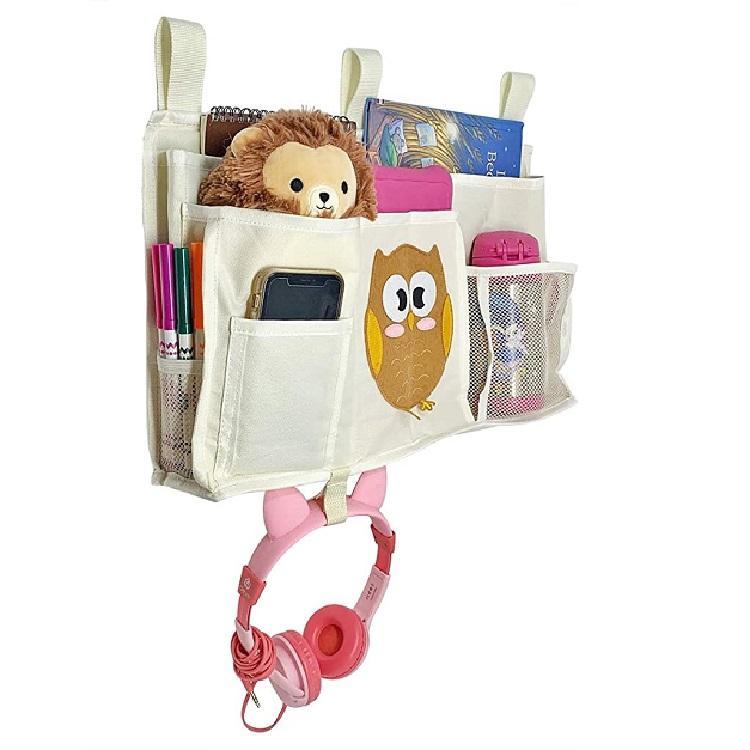 remote control organizer,,bedside hanging storage bag