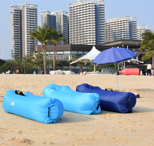 Outdoor Inflatable Sleeping Bag Air Sofa Water Hammock Portable Folding Beach Sun Lounger