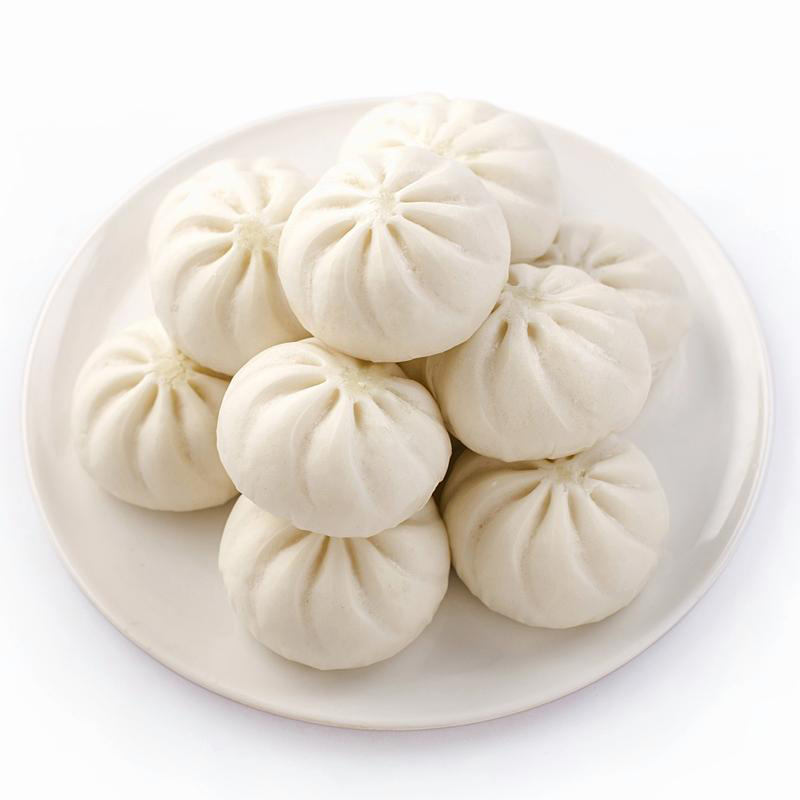Chinese Food Breakfast Traditional Food Baozi Machine Made Delicious Baozi