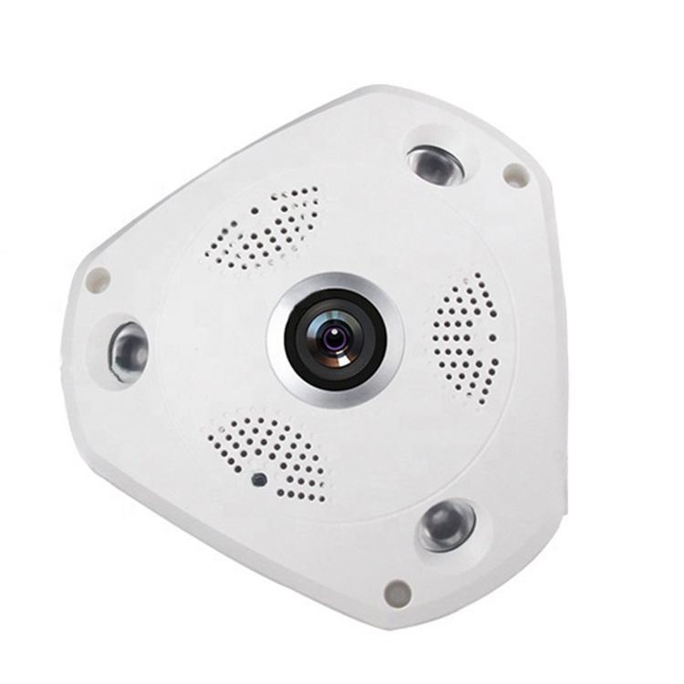360 grad Panorama Fisheye Plastic VR Array IR LED Monitoring Security Surveillance CCTV Camera Housing Shell Case Cover