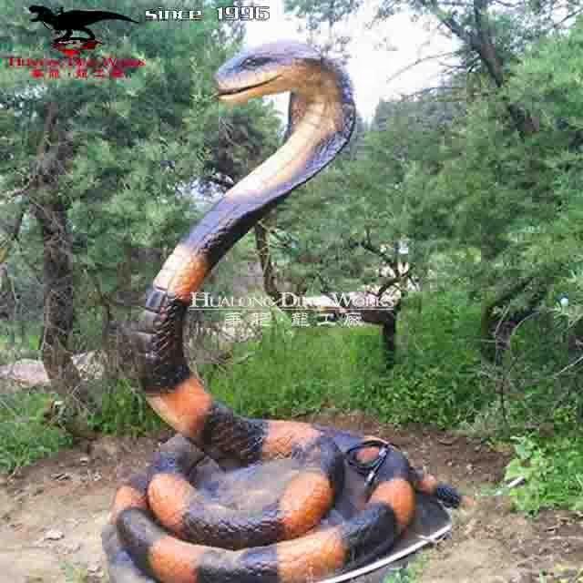 Реалистичная змея в виде животного; Купить аниматронику в натуральную величину