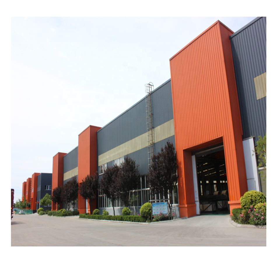 Custom Steel Structure Fabrication Company Metal Steel Structure Warehouse Building in Qingdao