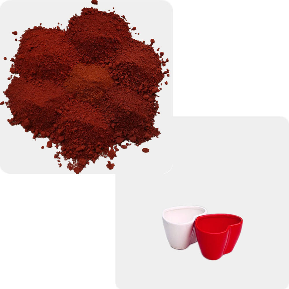 iron oxide red 101 110 130 190 ceramic pigment for ceramics glaze enamel