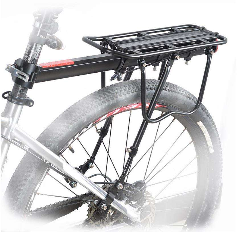 671-09 equipment is equipped with reflective mountain bike rear aluminum shelf luggage rack bicycle accessories