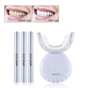 OEM Portable Home LED Lamp Smile Teeth Whitening Machine Wireless Magnetic Charging Dental Bleaching kit Blanchiment Des Dents