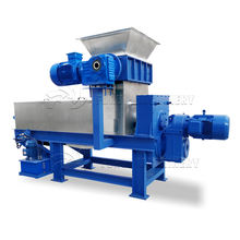 cassava grinding machine/dewatering machine for city trash and household trash