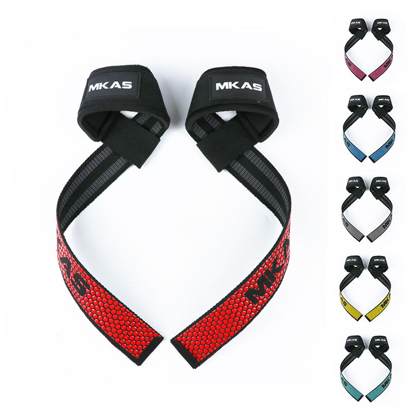 Wholesale Sports Custom Wrist Straps Gym Weight Lifting Straps