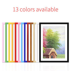 Hot Classic Wall Hanging A4 A3 4*6 5*7 6*8 8*10 30*30 Customize Wood Poster Picture Photo Frame
