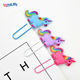 Customized OEM Soft Rubber Book Mark Silicone Bookmark PVC Paper Clip