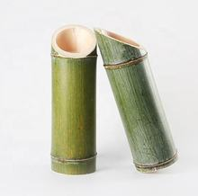 China Handmade Bamboo Crafts Eco Friendly Bamboo Tube For Drink