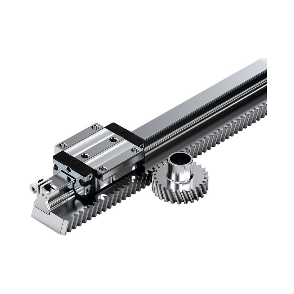 High Precision Grinding Stainless Steel rack Gears Straight Tooth Rack And Pinion Gears