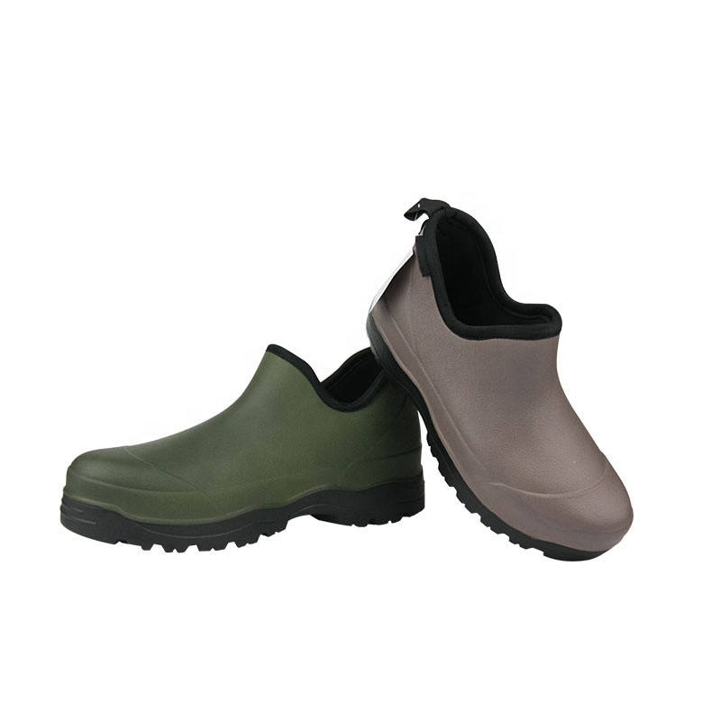Women Spring Men Summer EVA Light Weight Rubber Boot Ankle Garden Shoes