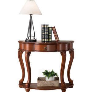 Professional manufacturer hand-carved wood console table furniture console table