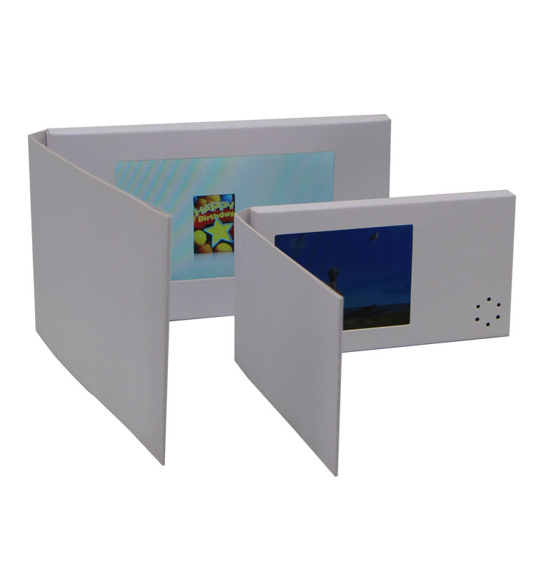 Blank card 2.4 2.8 Inch lcd video greeting card Display Digital Video Business Card