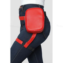 YFP-04 Faux Leather Cool Waist Bag Leg Harness Thigh Fanny Pack
