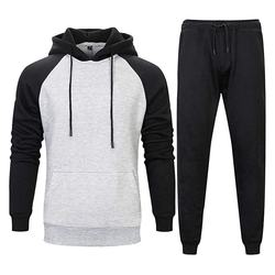 Premium Quality Men Winter Multicolor Black Hoodie Trouser Pullover Gym wear jogging tracksuit with Custom design on Wholesale