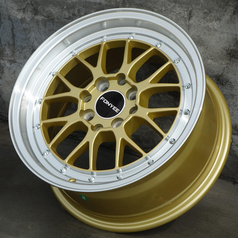 FY80H51 Car Modified Aluminum Alloy Wheels 15 Inch 4X100 Offroad factory price