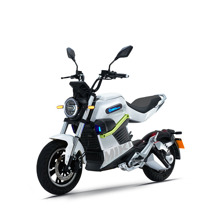 EEC 72V removeable lithium battery MIKU SUPER 3000W electric motorcycle electric scooter