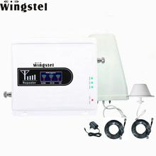 Tri band 900 1800 2100 GSM/3G 2g/3g/4g mobile signal booster/repeater/amplifier
