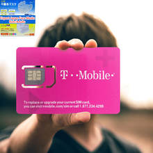T-Mobile USA Sim Card Unlimited Data -True Unlimited High Speed Data/Calls/Texts 7/10/15/21/30/60  Days