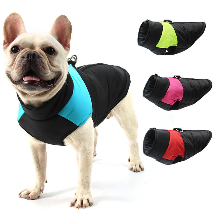 2020 waterproof dog winter coat warm pet coat jacket dog clothes clothing winter with thickened cotton