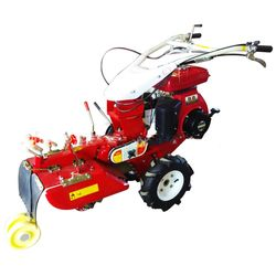Vegetable planting ridger diesel trenching and soil cultivation machine