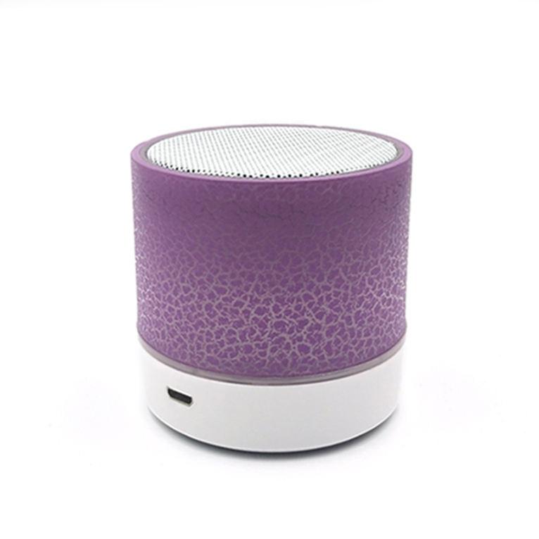 2019 Haut-parleurs sans fil portables bon marché La musique extérieure a mené la lumière avec la voiture de haut-parleur Bluetoo
