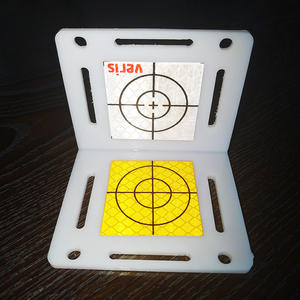 Total station parts 3M diamond reflective sheet target sticker with strong adhesive for tunnel mapping surveying