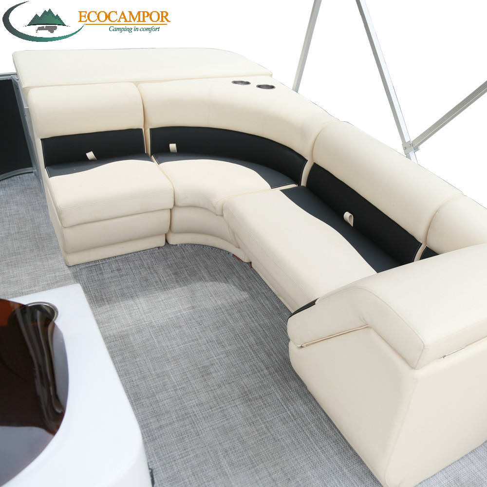 Hot sale pontoon boats driving seat lounge for sale with accessories