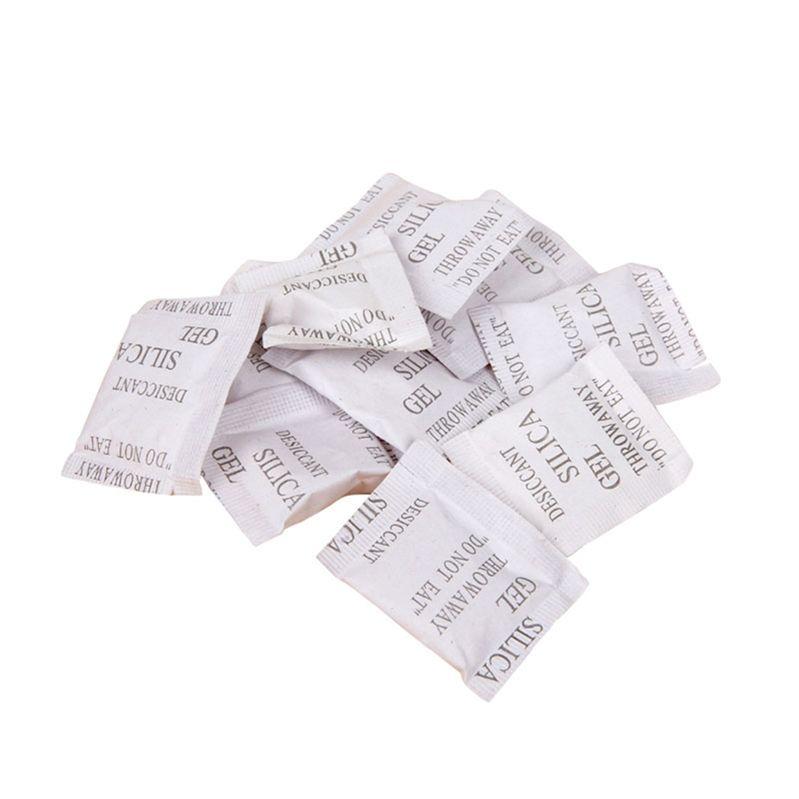 Alcanzar la certificación moho prueba de papel compuesto de tres lados sello de Gel de sílice de la bolsa