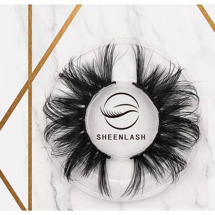 SHEENLASH wholesale mink lashes 5D mink eyelashes vendor 25mm mink eyelash