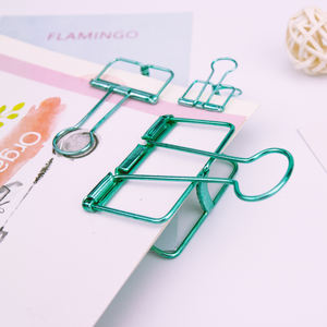 Office supplies and stationery hollow binder clips