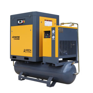 15kw 8bar AC Power Source And Stationary Configuration Screw Air Compressor For Sale