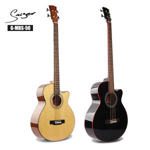 Cutaway China Baixo acustic acoustic bass guitar Black musical instrument bajo