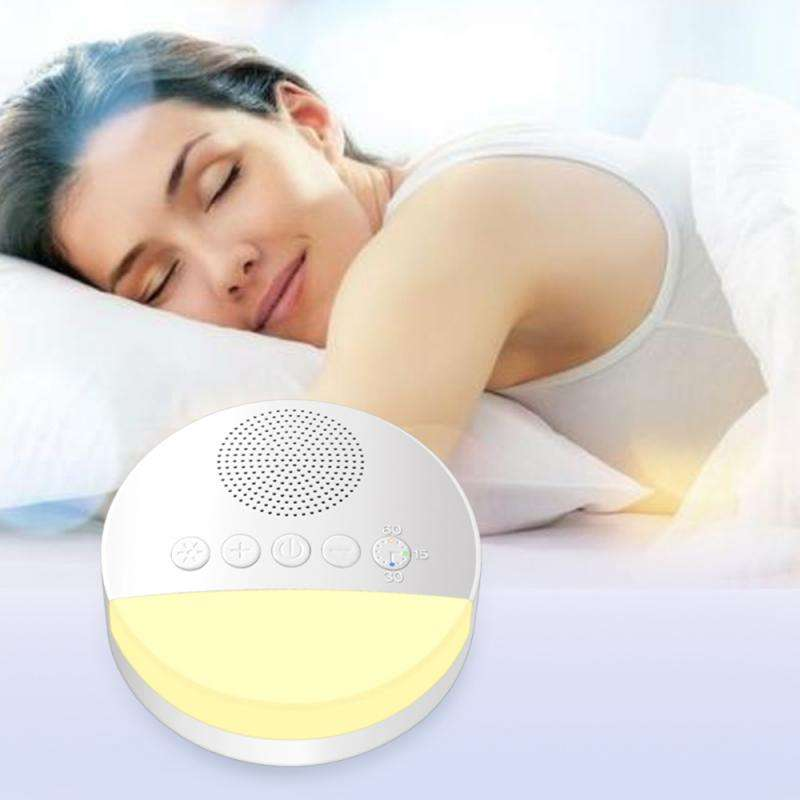 Smart Sleep Therapy Machine Soothing White Noise Sound Sleep Instrument Machine Sleep Therapy Sound Relax Lamp Timing Function
