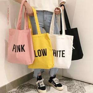 Eco Bag Custom Recycle Vlakte Biologisch Katoen Canvas Totes Bag Herbruikbare Shopping Tassen Met Bedrukt Logo
