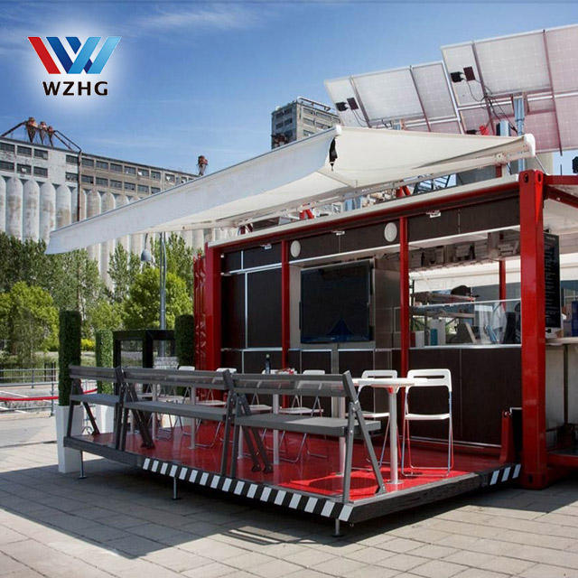 Wind proof Inside shipping container house kitchen modular prefabricated house container America