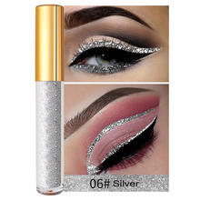 Private Label Glitter Liquid Eyeliner Waterproof Customize Packaging Box For Free