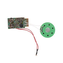 Custom voice audio chip pre-recorded record sound chip for greet card