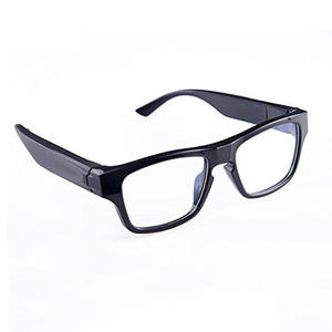 1080 HD 5MP CMOS Sensor 75mins Video Recording Eye Camera Glasses With Touch Controlled For Home and Business Security