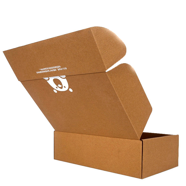 Airplane Packaging Blank Shipping Carton Postal Mailing Cardboard Folding Commerce Biodegradable Corrugated Box