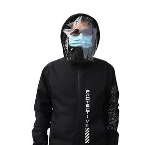 Fashion Unisex Outdoor Waterproof Jackets Men's Windbreaker Protection Jackets