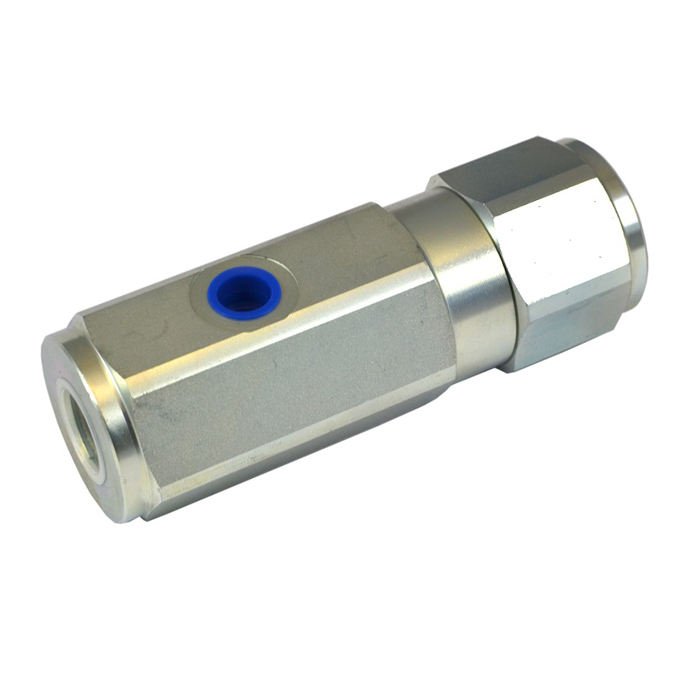 Stainless steel 316 aluminum Single Acting Pilot Operated Check Valve