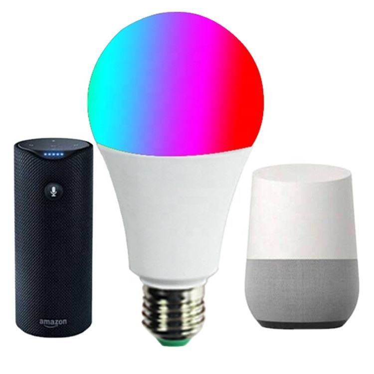 <span class=keywords><strong>E26</strong></span> <span class=keywords><strong>E27</strong></span> Wifi Smart Lampen Led Wall Mounted Lamp Met Alexa