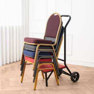 Wholesale Price Oem Unique Stackable Modern Iron Metal Banquet Chair For Dining Wedding Events Restaurant Hotel Hall Furniture